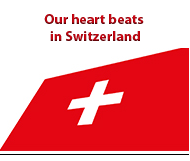 Our heart beats in Switzerland